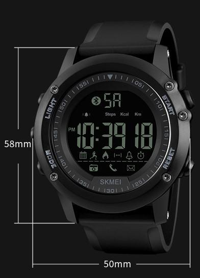Мужские часы Skmei(SK1321) с фитнес-трекером, оригинал